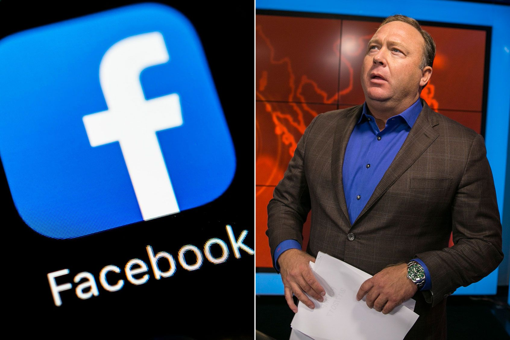 Facebook's alleged censoring of InfoWars and Alex Jones is not a free speech issue